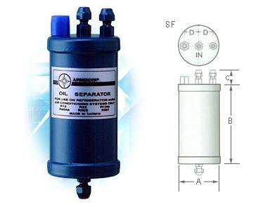 Refrigerant Oil Separators manufacturer / Refrigerant Oil