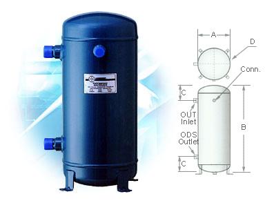 Refrigerant Receivers manufacturer / Refrigerant Receivers supplier
